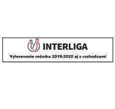 Vylosovanie Interligy 2019-2020 jar aj s rozhodcami